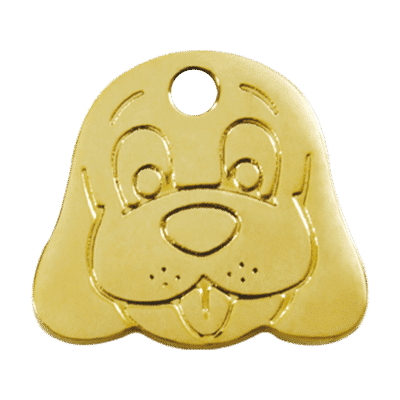 Dog Face Pet Tag by Red Dingo (Copy)
